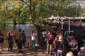 Kuva vuoden 2013 ekskursiolta Viron Tartosta.