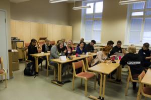 Vuoden 2013 seminaari Jyväskylässä. Semmalle oli varattuna kaksi salia Historicalta.