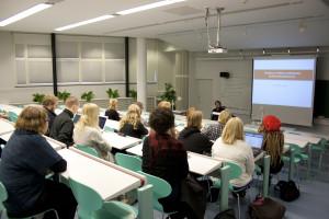 Kulon ensimmäinen seminaari vuonna 2011 Oulussa.