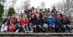 Nefa-Joensuun vapunviettoa vuonna 2014. (c) Nefa-Joensuu ry
